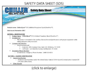 chiller-glycol-safety-data-sheet